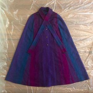 70s/80s Vintage Irish Wool Cape